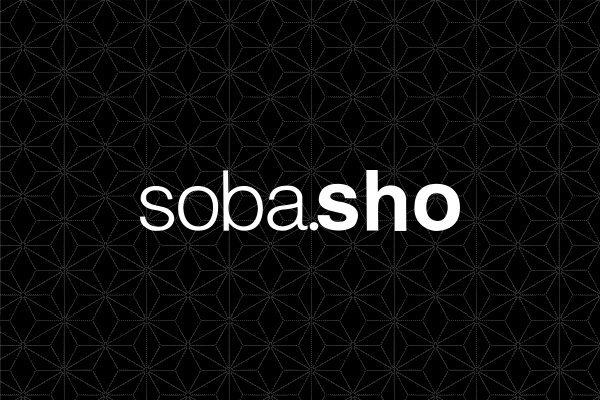 soba.shoのホームページオープン。